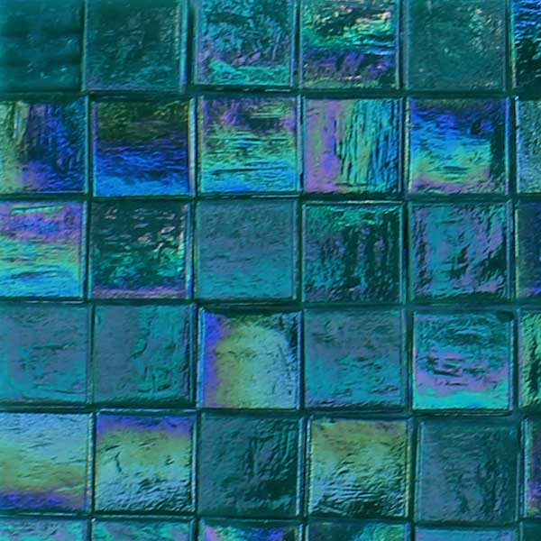 Iridescent Glass Tiles - Everything Mosaic